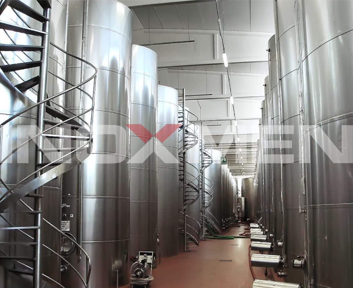 Alcoholic-Beverage-Project-Examples-Wine-Rice-wine-Distilled-Spirit-Beer-Project-Insulated-Tank-for-Wine-Storage