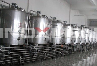 Fruit-And-Vegetable-Juice-Enzyme-Beverage-Project-Example-Fermentation-Storage-System
