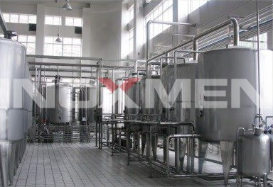 Fruit-And-Vegetable-Juice-Enzyme-Beverage-Project-Example-Semi-Automatic-CIP-Cleaning-System
