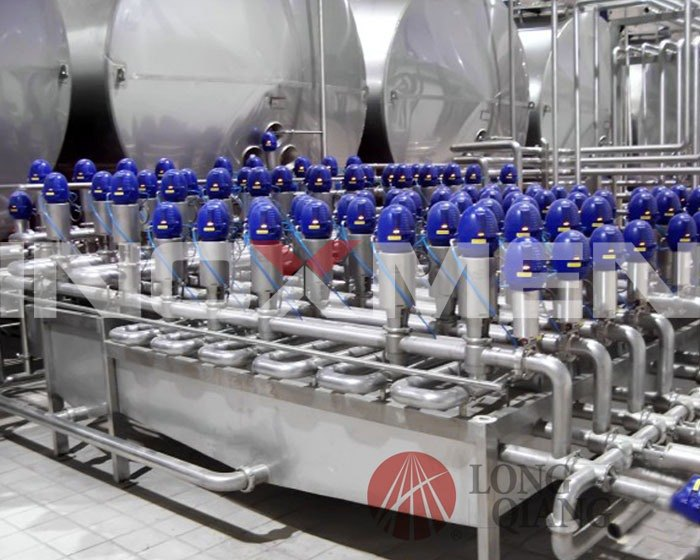 Fully-automatic-valve-array-system