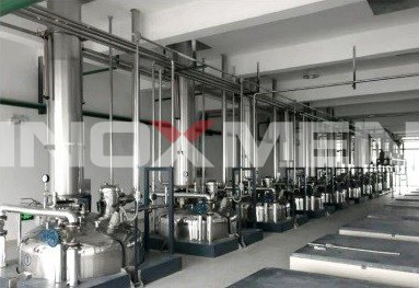 Pharmaceutical-Project-Engineering-Examples-2-Traditional-Oriental-Medicine-Extraction-and-Concentration-Line-Extractor
