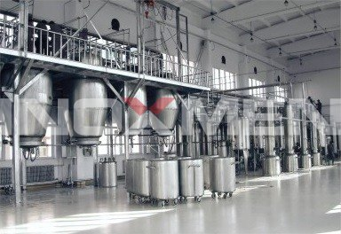 Pharmaceutical-Project-Engineering-Examples-3-Traditional-Oriental-Medicine-Extraction-an-Concentration-Line-Extraction-and-Concentration-System