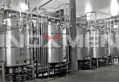 Project-Example-of-complete-line-of-fermentation-lactobacillus-beverage-Fermentation-System